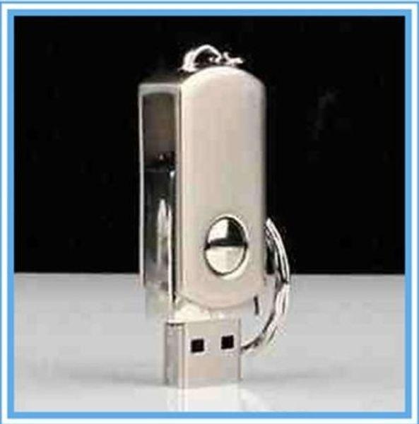 DHL EMS New 256GB 128GB 64GB USB 2.0 Swivel Flash Drive Pen Memory Swivel Memory 128GB 256GB 64GB Metal Swivel KeyRing Memory Stick Storage