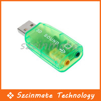 USB Virtual 5.1 Surround USB 2.0 3D Carte son externe externe