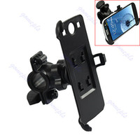 Wholesale Bicycle Mount Galaxy S3 - Free Shipping Bike Bicycle Cycle Mount Stand Cradle Holder Kit For Samsung Galaxy S3 SIII i9300