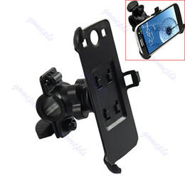 Wholesale S3 Holder Bicycle - Free Shipping Bike Bicycle Cycle Mount Stand Cradle Holder Kit For Samsung Galaxy S3 SIII i9300