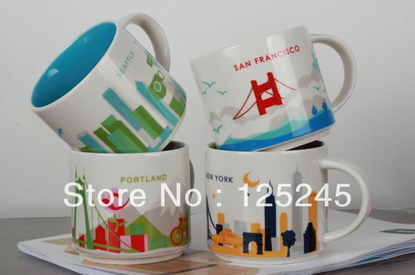 Starbucks You Are Here Collection City Mug Series 400ml 14oz Plastic Coffee Mugs Plastic Mugs From Zhongxiaoyan1 26 34 Dhgate Com