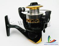 Wholesale Cheap Fishing Reels China - NEW!!! Fishing Tackle spinning wheel fishing reel cheap yellow XM200 china post air mail (2pcs)
