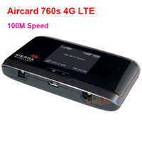 Wholesale 4g modem - unlocked Wireless Telstra Sierra s G AirCard LTE Modem Moblie Hotspot mbp wifi portable ree shipping