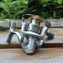 Wholesale Fly Gear - S5Q Stainless Steel 6 BB High Power Gear Spinning Aluminum Fishing Reel SG1000 AAACBB