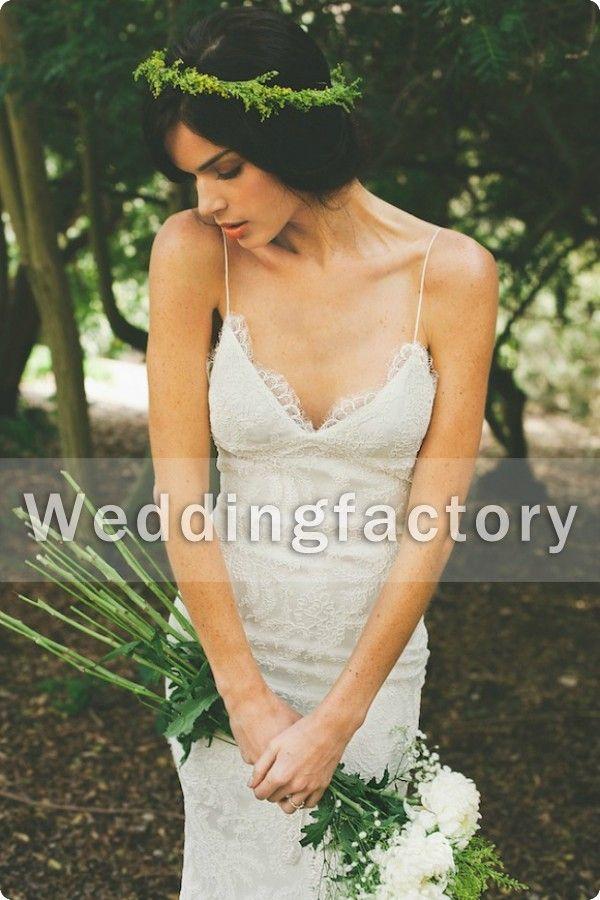 Robe de mariée de mariée de mariée de mariée de la dentelle de la dentelle chaude de la dentelle Katie May Sexy Bare Naud Sermaid Robe de mariée