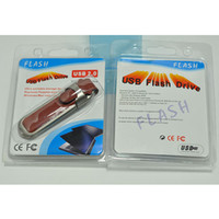 unidades flash usb de cuero al por mayor-Llavero de cuero 128GB 256GB 64GB Llavero de cuero USB Llavero de cuero 256GB 128GB 64GB Flash / Thumb Drives Pro Sports marca Brown
