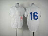 Wholesale Xxl Name Brand Shirts - Men's Dodgers #16 Andre Ethier White Baseball Jerseys High Quality Cheap Stitched Jerseys 2014 Hot Sales Brand Name Baseball Uniforms Shirts