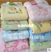 Discount quality baby blankets - Free shipping High quality coral fleece baby blanket child blanket super soft and comfortable 75x102cm 300g
