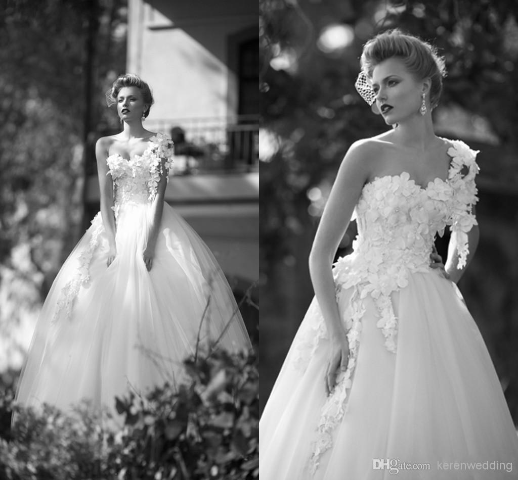 2015 Designer Wedding Gowns: 2015 Spring Romantic Vintage Wedding Dresses Designer