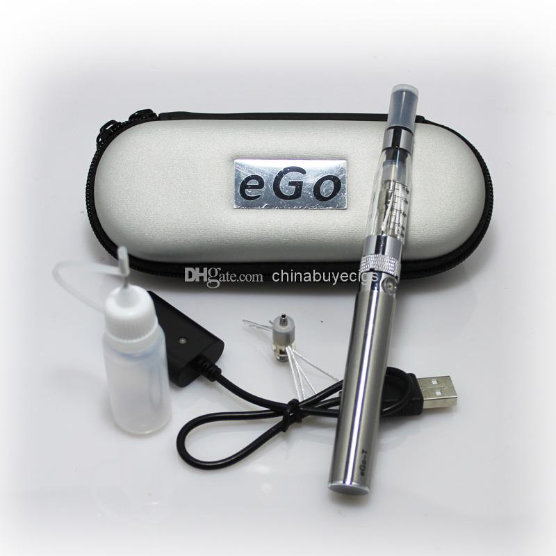 eGo-T CE4+ Colors Zipper ego case with extra rebuildable coil electronic cigarette starter kit CE4S CE4 plus rebuildable atomizer ego kits