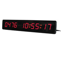 Wholesale Led Digital Count Up - 1.8'' High Red Character 10Digits DDDD HH:MM:SS LED Digital Display Countdown Count up Multi Special Event Day LED Countdown Clock Timer
