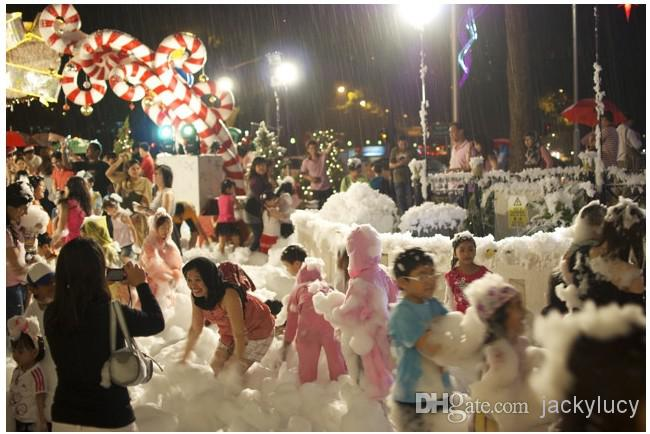 Christmas Ornament DIY Instant Artificial Snow Powder Simulation Fake Snow for Party Christmas Decoration
