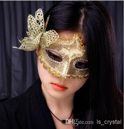 Great Butterfly Design Lace Half Masks The Bauta Costume Ideas For