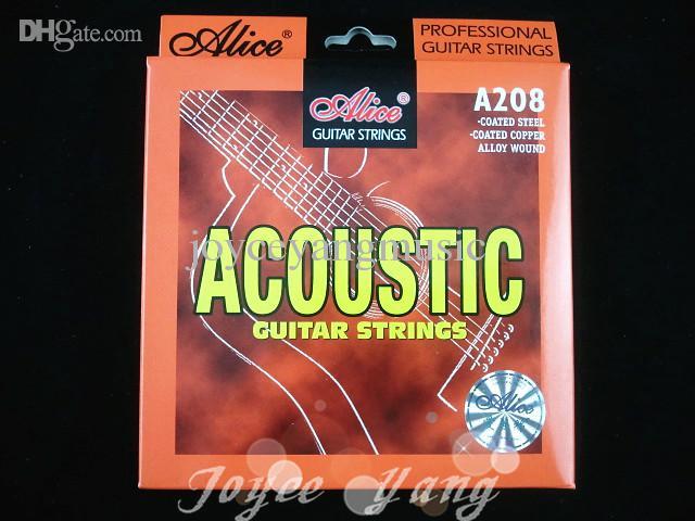 アリスA208-Lアコースティックギター弦ステンレススチール1-6弦卸売送料無料