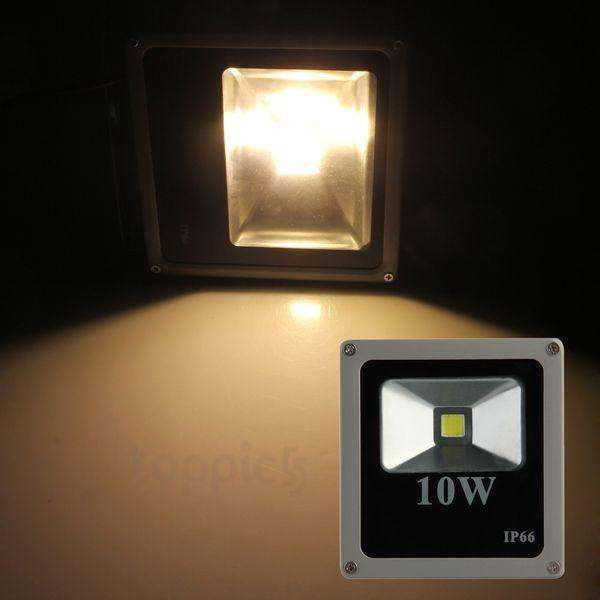 超薄い10W 20W 30W 50W LEDの投光照明の防水RGBの温かく/クールな白いLEDプロジェクターライト85-265V
