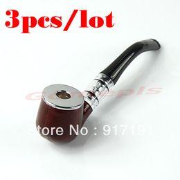 Pfeifen zigarren freies verschiffen online-Kostenloser Versand 3pcs / lot Classic Durable Zigarette Zigarettenspitze Tabak Rauchen Pfeife Filter