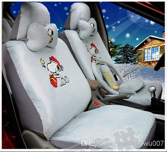 Fashion Cute Gray Plush Fabric Cartoon Snoopy Car Safety Seat Cover Infant Covers Infants From Meilirenwu007 12563