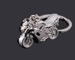 Deutschland Motorrad-Artschlüsselkette der NEUEN Art und Weise der Mode 10pcs / 1lot bestes Geschenk der keychains Gold Freies Verschiffen Versorgung