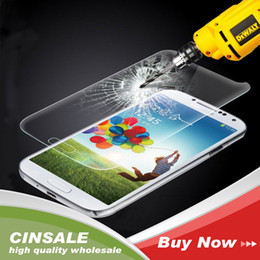 Wholesale S3 Screen Protectors - High Quality Premium Tempered Glass Film Screen Protector fo rsamsung galaxy s3 I9300 with retail by epacket