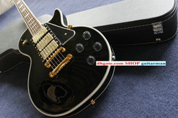 Wholesale Left Handed Black Beauty - NEW Custom Black Beauty Electric Guitar OEM Electric Guitar free shipping China Guitar Factory New Style
