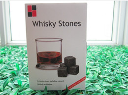 Wholesale Wholesale Whiskey Gift Sets - 100% Natural! Wholesale Whiskey Stone Whiskey Rocks 9pcs Set in Gift Box (W) Christmas Valentine's Father's business gift
