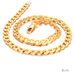 $enCountryForm.capitalKeyWord Canada - Miami Cuban Chains For Men Hip Hop Jewelry Wholesale Gold Color Thick Stainless Steel Long Big Chunky Necklace Gift