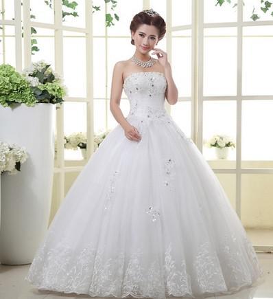 Mayorista de moda un nuevo Estilo Extras vestido de novia elegante  coreano princesa Bra hermosa con