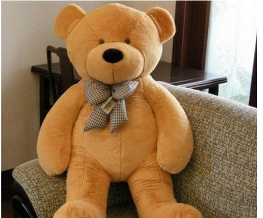 2014 NEUE hohe Qualität niedriger Preis Plüschtiere große size100cm / Teddybär 1m / große Umarmung Bär Puppe / Liebhaber / Weihnachtsgeschenke Geburtstagsgeschenk