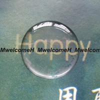 """Wholesale Cabochon Transparent - Free Shipping High Transparent 1"""" 25.4mm Self Adhesive Clear Cabochon 3D Epoxy Resin Sticker Soft Never Yellowing Custom Accept"""