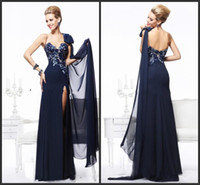 Wholesale Champagne Chiffon Fabric - 2014 cheap new design collection fabric chiffon mother of the bride dresses A-line floor length sleeveless sweetheart backless custom made