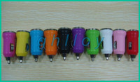 Wholesale Micro Chargers Single Cars - Single Mini 12V-24V DC Port Micro auto USB Car Charger Adapter For iPod iPhone 4 4S 5 5C 5S A+