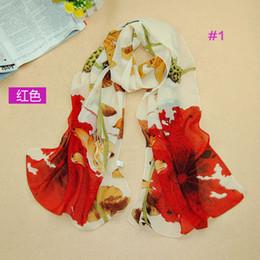 Wholesale Lotus Heads - wholesale women fashion lotus leaves scarf shawls plain chiffon silk head hijab scarves shawls 10pcs lot