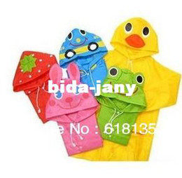 Wholesale Kids Rain Coat Yellow - Hotsale Funny Rain Coat Kids children Raincoat Rainwear Rainsuit,Kids Waterproof Animal Raincoat,