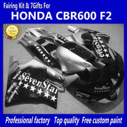 Wholesale Honda Cbrf2 - 7 Gifts + Tank cover 7 star fairing kit For Honda CBR600 F2 91 92 93 94 CBR600F2 1991 1992 1993 1994 CBR 600 CBRF2 1