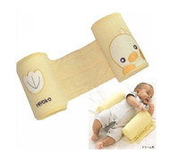 Wholesale Latex U Pillow - Free shipping(2pcs lot)Baby sleeper position pillow Baby Latex pillow Baby's love pillow Cute chick design