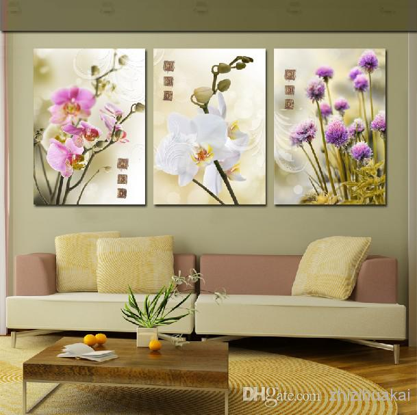 Modern Wall Decor Sets : Wall art set home decoration modern picture abstract oil