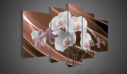 Wholesale Group Modern Abstract Oil Painting - High Quality Modern Abstract Oil Painting on Canvas Art group oil paintings home decoration 5pcs set DY-093