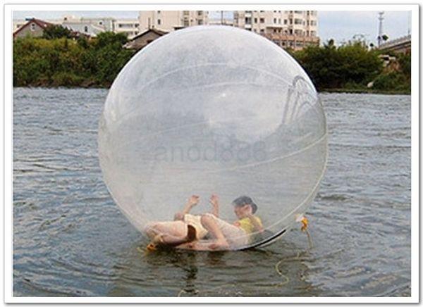 FEDEX free-Hot sale Water Walk ball pool PVC inflatable ball multi-function water ball dancing ball transparent water ball dia 1.50m PVC