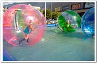 Wholesale Inflatable Walking Pool - FEDEX free-Popular Water Walk ball pool PVC inflatable ball multi-function water ball dancing ball transparent water ball dia 1.50m PVC