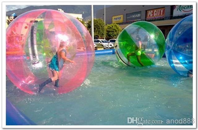 FEDEX free-Popular Water Walk ball pool PVC inflatable ball multi-function water ball dancing ball transparent water ball dia 1.50m PVC