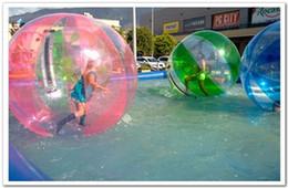 Wholesale Inflatable Pool Walking Balls - FEDEX free-Popular Water Walk ball pool PVC inflatable ball multi-function water ball dancing ball transparent water ball dia 1.50m PVC