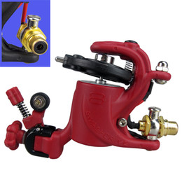 Wholesale Dragonfly Rotary Motor Tattoo - New And Hot Sale Strong Motor Rotary Tattoo Machine Gun Swashdrive Gen 8 Dragonfly Style 10 Watt 8 color optional