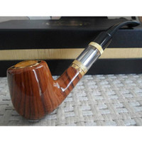 Wholesale Dropshipping Electronic Cigarette - Dropshipping E-pipe 618 Health Smoking Pipe Electronic Cigarette Pipe Imitate Solid Wood Design With retail pckaging