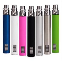Wholesale Ego Vv Battery V5 - eGo vv eGo v5 Battery Variable Voltage 3.2-4.2v LED Battery Electronic Cigarette free shipping