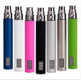 Wholesale E Cigarette Variable Led - 650mah 900mah 1100mah variable voltage ego vv Led battery EGO-vv Electronic Cigarette e cig battery free shipping