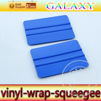 Wholesale Vinyl Air Free China - 4Inch Round Conner Car Vinyl Film Wrapping Tools 3M Scraper Squeegee 50pcs Free Shipping By China Post Air Mail