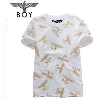 Wholesale Man S Fasion - New Fasion Style Men's Short Sleeve t shirt boy london shirt boy london cotton tees with