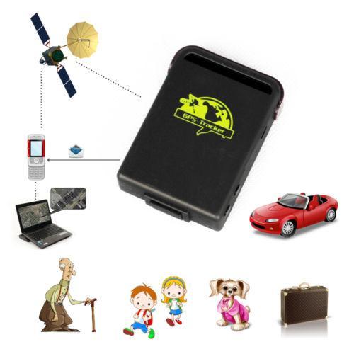 new mini elderly child pets gsm gprs gps personnel tracker car