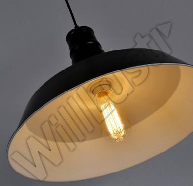 Hängsmycke Lampa Industri Stil Loft Pendant Light Edison Landelier Country Style Lighting Vintage Lamp Diameter 36cm