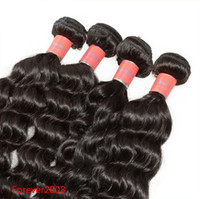 """Wholesale Malaysian Deep Wave Same - New Arrival DHL Free Shipping Malaysian Deep Wave Hair Natural Black Color Hair Weft same size 8""""-32"""" 5A Quality"""